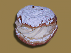 Cream Doughnut