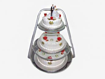 <p>3-Tier Wedding Cake</p>