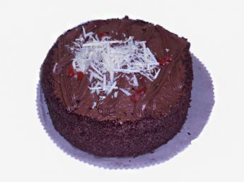 <p>Chocolate Cherry Cake</p>